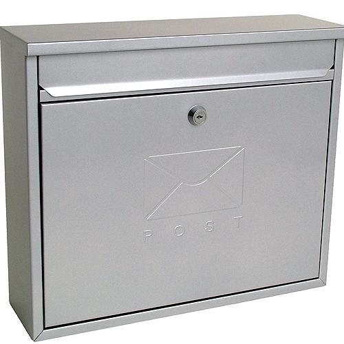 stainless steel elegant postbox
