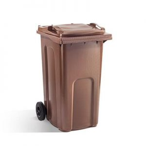 BROWN 240 LITRE WHEELIE BINS NORTHERN IRELAND