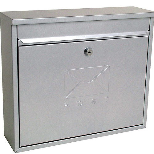 stainless steel elegant postbox